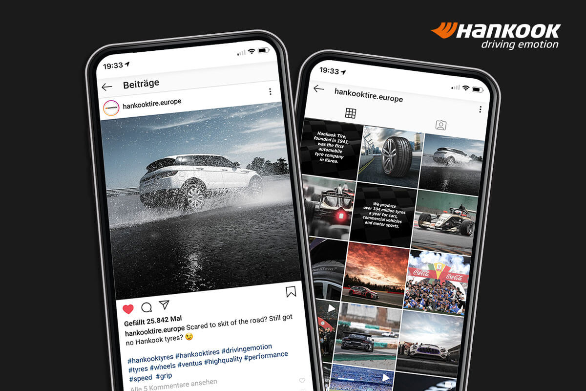 envy spins HANKOOK on Instagram